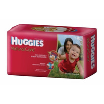 Huggies Natural Care Rojos Hiperpack Con Envio Gratis