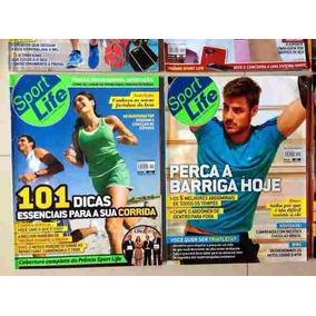 Revista Sport Life Corrida Emagrecimento Saúde 12x S/j Cd429