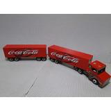 Show 1,63 Metros Bitrem 9 Eixos Carreta Bau Coca Cola Scania