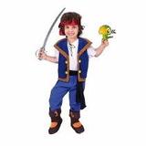 Disfraz De Jake Y Los Piratas Del Nunca Jamas Con Espada