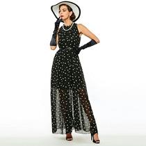 Vestido Longo Feminino Lindo Pronta Entrega Xl Bolinhas