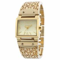 Relógio Euro Dourado Pulseira Bracelete Eu2035yab/4d - Promo