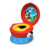Bañito Entrenador Disney Mickey Mouse 3 In 1 Potty