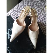 Zapatos De Novia Ricky Sarkany - Color Perlado