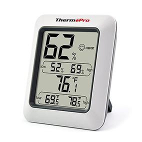 Thermopro Tp50 Higrómetro La Humedad Del Termómetro De Inte