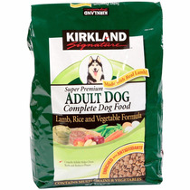 Alimento Kirkland Perro Adulto De Cordero Y Arroz 18 Kg