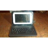 Tablet Titan 7 Pc7007me Blanca 16gb + Teclado Físico
