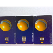 Tres Tarjetas Telefónicas Ladatel Plus Esfera En 150 Pesos