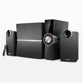 Caixa De Som Amplificada Subwoofer Home Theater Pc - Edifer