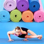 Colchoneta Yoga Goma Eva Pilates Gimnacia Ideal Buena Calida