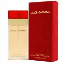 Perfume Dolce Gabbana Vermelho 100ml Red Original E Lacrado