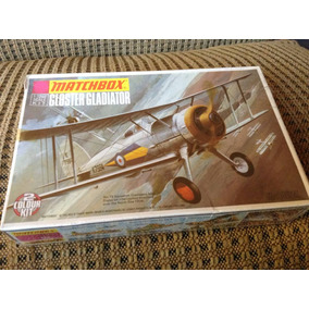 Avion Matchbox Gloster Gladiator