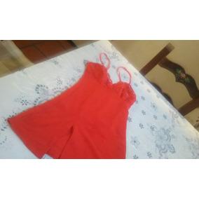 Camison Ropa Interior Mujer Small Rojo A Nuevo
