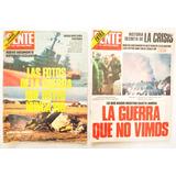 Lote X2 Revista Gente Fotos Guerra Malvinas N 883 877 1982