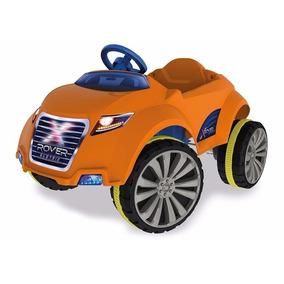 Carro Elétrico Infantil Xrover 6 V Laranja Xalingo