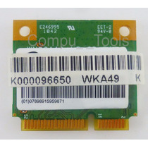 Tarjeta Wireless Toshiba Satellite T215d N/p: K000096650