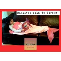 Mantitas Micro Polar Cola De Sirena!!