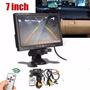 Monitor 7 Coche/camión O Segu+ Camara Trasera Para Parking