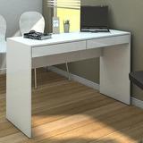 Mesa Mesinha Pequena Computador Pc Branca Consultório Ln