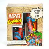 Spiderman Set Taza Y Termo 100% Original