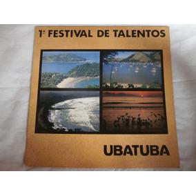 Lp 1º Festival De Talentos - Ubatuba, Disco De Vinil De 1992