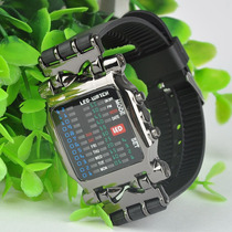Reloj Digital Binario Led Hombre