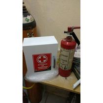 Extintor 4.5 Kg Y Botiquin Con Medicamento