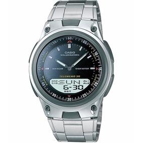 e8533db44ee Relógio Casio Aw-80 D 30 Fones 3 Alarmes Prova D água 30m Pt