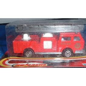 Carrinho - Miniatura Caminhão Bombeiro Majorette - Embalado