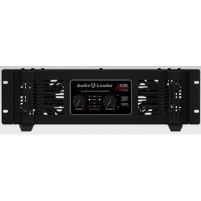 Amplificador Áudio Leader Al 10k 10000 W Rms 1,3 Ohms