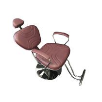 Poltrona Cadeira Laca Reclinavel Base Redonda Cabeleirei