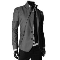 Saco Blazer Hombre Entallado Slim Fit Casual Formal Elegante