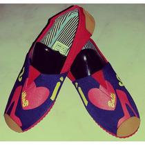 Zapatillas Suela Roja Con Tacon Rojo Con Envio Gratuito