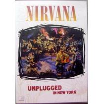 Nirvana Unplugged In New York Dvd Lacrado Original