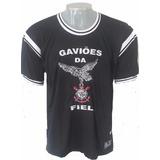 Kit Gaviões Da Fiel Bermuda + Camiseta Originais