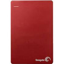 Case Para Hd Notebook 2,5 Vermelho Seagate Sata Usb 3.0