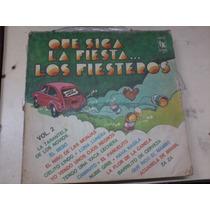 Disco Vinilo Long Play 1034b Los Fiesteros Sigue La Fiesta 2
