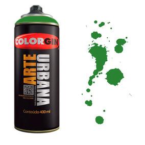 Tinta Spray Arte Urbana Colorgin 400ml Verde Ervilha - 963