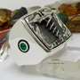 Anel Formatura Medicina Esmeraldas Naturais Prata Maciça