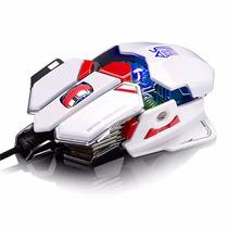 Mouse Gamer Macro 10 Botões Sword 4000 Dpi Top De Linha Pefg