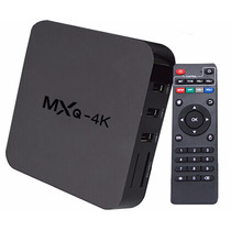 Tv Box Mxq 4k Android Convierte Tu Tv En Smart, Netflix Kodi