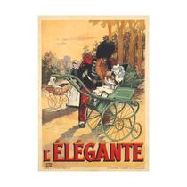 Lelegante Vintage Poster France C. 1890 Print, 24 X36
