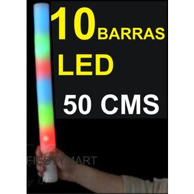 10 Barras Led Aplaudidor Fiestas Eventos Espuma Con Luz
