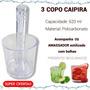 Copo Caipirinha Kit Com 3 Copos De Caipirinha - Kit Caipira