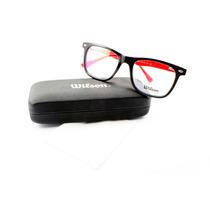 Armação Acetato Wayfarer Para Óculos De Grau Wilson Original