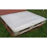 Palet Plástico 1,20 X 1,00 Blanco Soporta 6000 Kilos