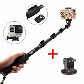 Bastão Pau Selfie Monopod 1288 Câmera Gopro Celular + Tripod