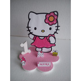 Centros De Mesa De Hello Kitty De 20cm Con La Base