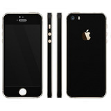 Skin Adesivo Capa Preto Fosco Importado 3m Iphone 5 5s 5se