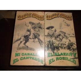 Antonio Aguilar Vhs Paquete De Tres Mexicanas Caballos